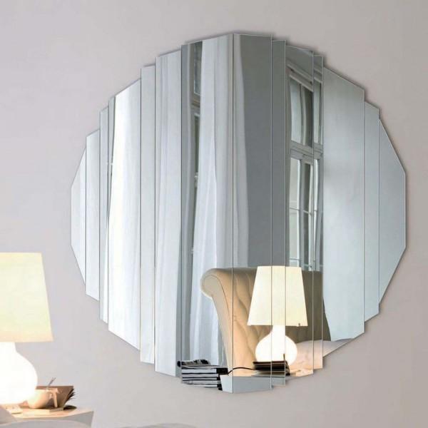 قاب آینه ای گرد پازلی