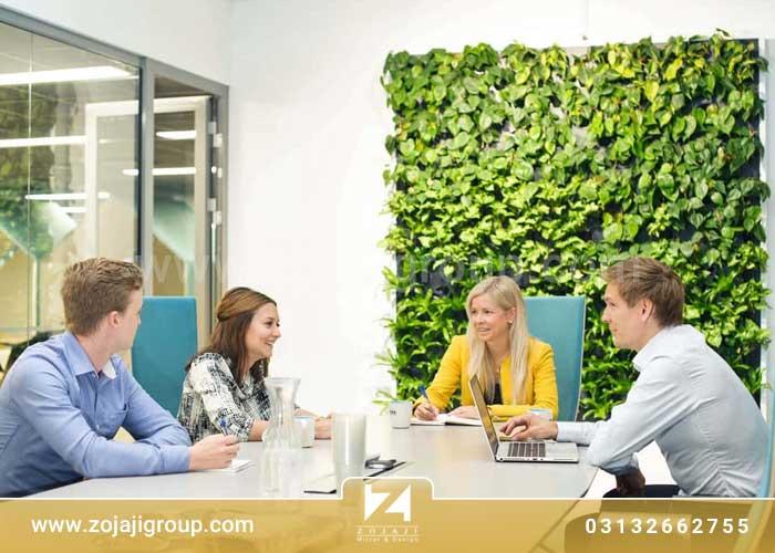 رنگ سبز در طراحی داخلی اداری