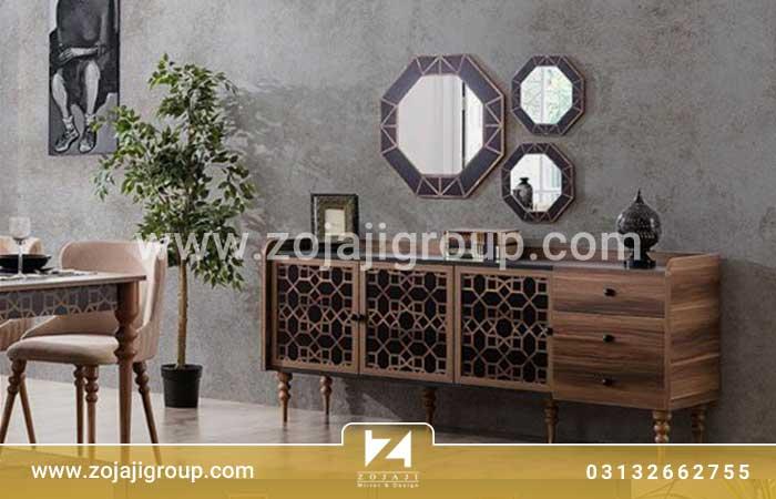 بهترین و جدیدترین آینه کنسول مدرن در اصفهان