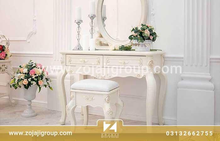 کاربرد و ویژگی های بهترین آینه کنسول در منزل عروس
