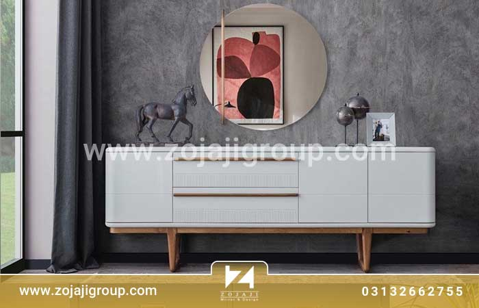 آینه کنسول سفید و کاربرد آن در منزل