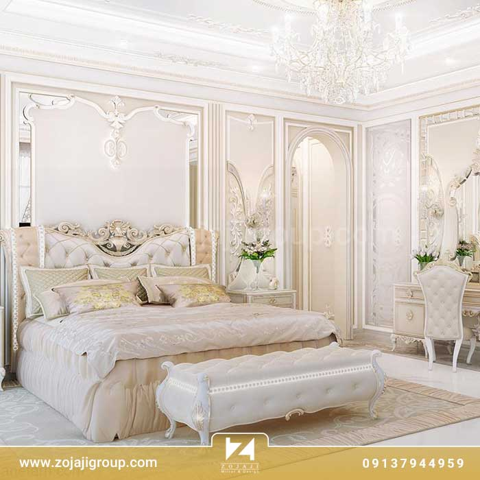 طراحی دکوراسیون اتق خواب عروس