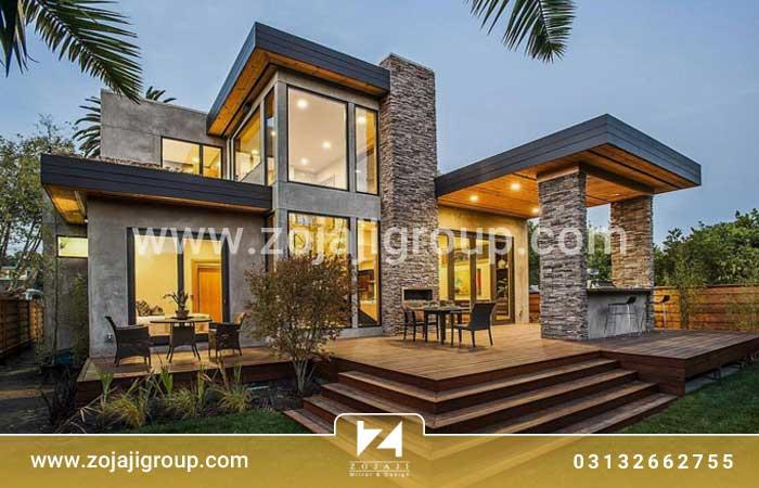 طراحی منزل ویلایی در تهران