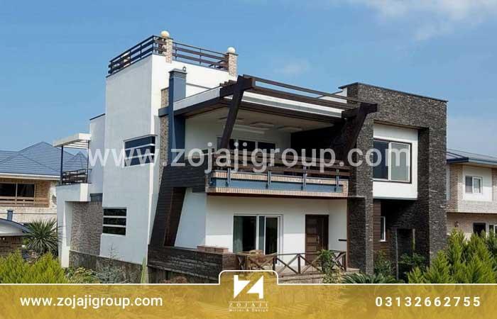 طراحی منزل ویلایی در کیش