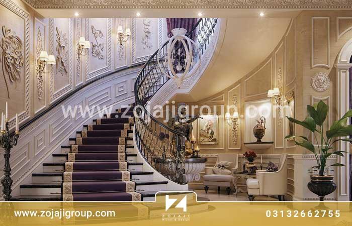 طراحی منزل دوبلکس کلاسیک